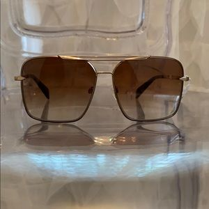 Rag and Bone 1010 Sunglasses - Gold Gradient